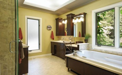 Bathroom renovation ideas on a