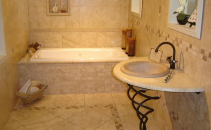 Bathroom tile ideas for small