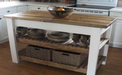 Design your own kitchen island