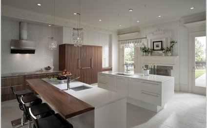 This kitchen has a magnificent