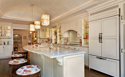Kitchen breakfast bar with