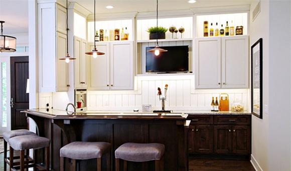 Kitchen wall units design
