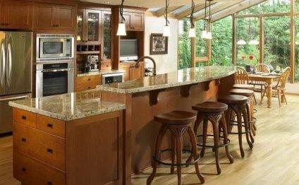 Kitchen Island Designs With