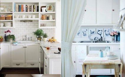White cottage kitchen Diy