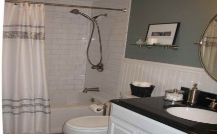 Small Bathroom Design On A