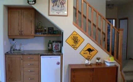 Small kitchen design under