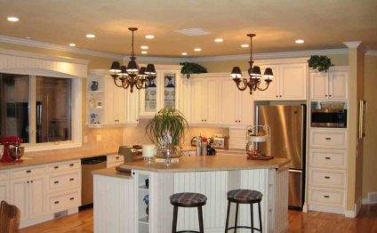 Small open kitchen designs