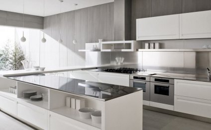 White Kitchen Design Beautiful