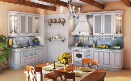Designing kitchen cabinets layout
