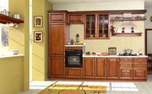 Designing kitchen cabinets