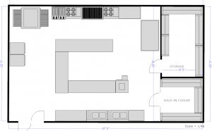 Kitchen Design Plan Templates