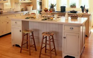 Small Kitchens with Islands Designs