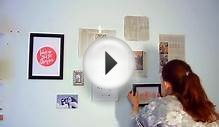 DIY ROOM DECOR! Design your wall arts & make your own