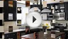 The Black kitchen cabinet design